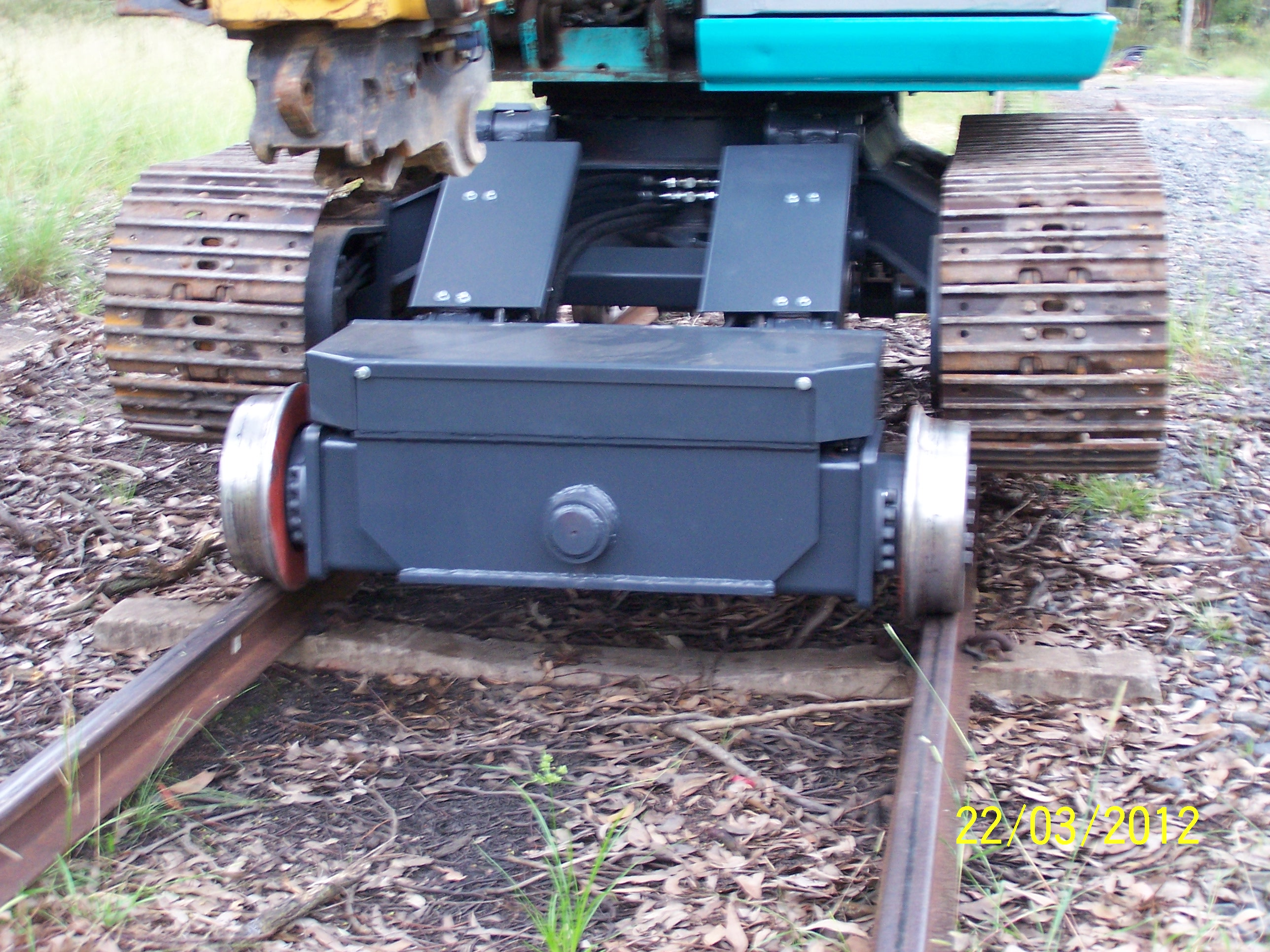 Hyrail - 13 Tonne Machine